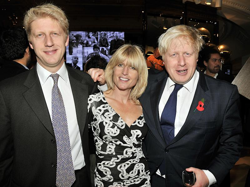 Jo Johnson, Rachel Johnson and Boris Johnsonn: Rex