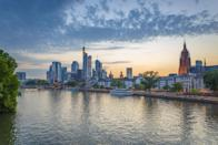 <p>Another German city appears on the list, with Frankfurt coming in at number seven. The country's high quality health and education services have helped propel its cities to the top of the world rankings. (Rex)</p>