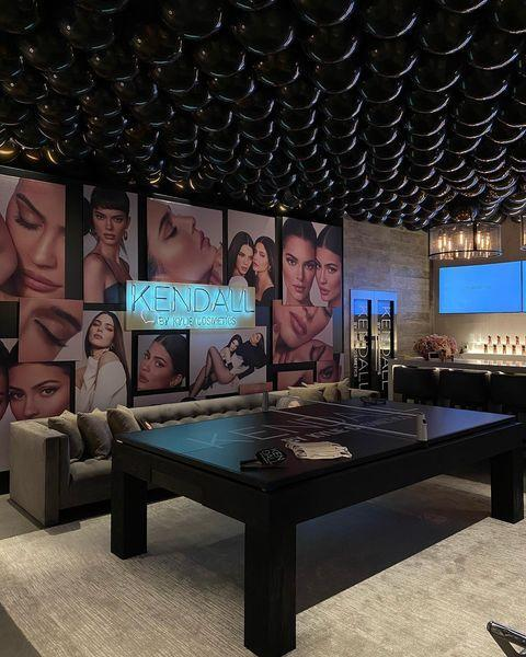 """<p>Kylie Jenner regularly shows off her Holmby Hills home on Instagram but her latest interiors update took it to the next level. The reality star showed her fans the transformation of her basement for an event and let's just say it's ten times bigger than our entire home. And has a cinema. Cool.</p><p><a href=""""https://www.instagram.com/p/CB4maIRn4NX/"""" rel=""""nofollow noopener"""" target=""""_blank"""" data-ylk=""""slk:See the original post on Instagram"""" class=""""link rapid-noclick-resp"""">See the original post on Instagram</a></p>"""