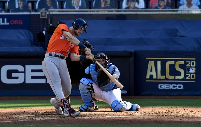 The Astros face the Rays in the 2020 ALCS