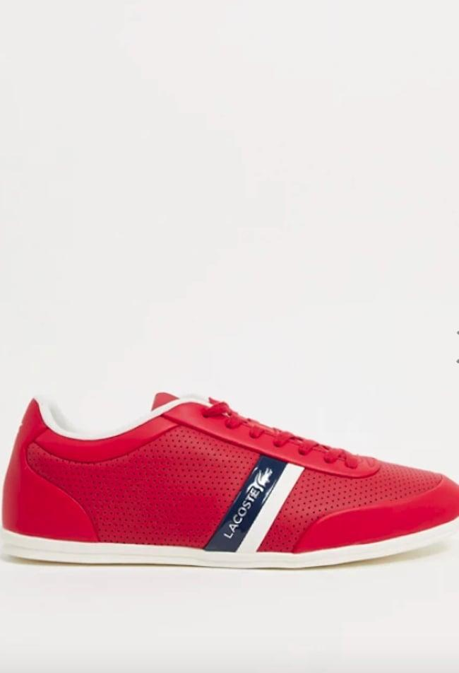 <p>You'll always stand out in these <span>Lacoste Storda Sneakers</span> ($86, originally $157).</p>