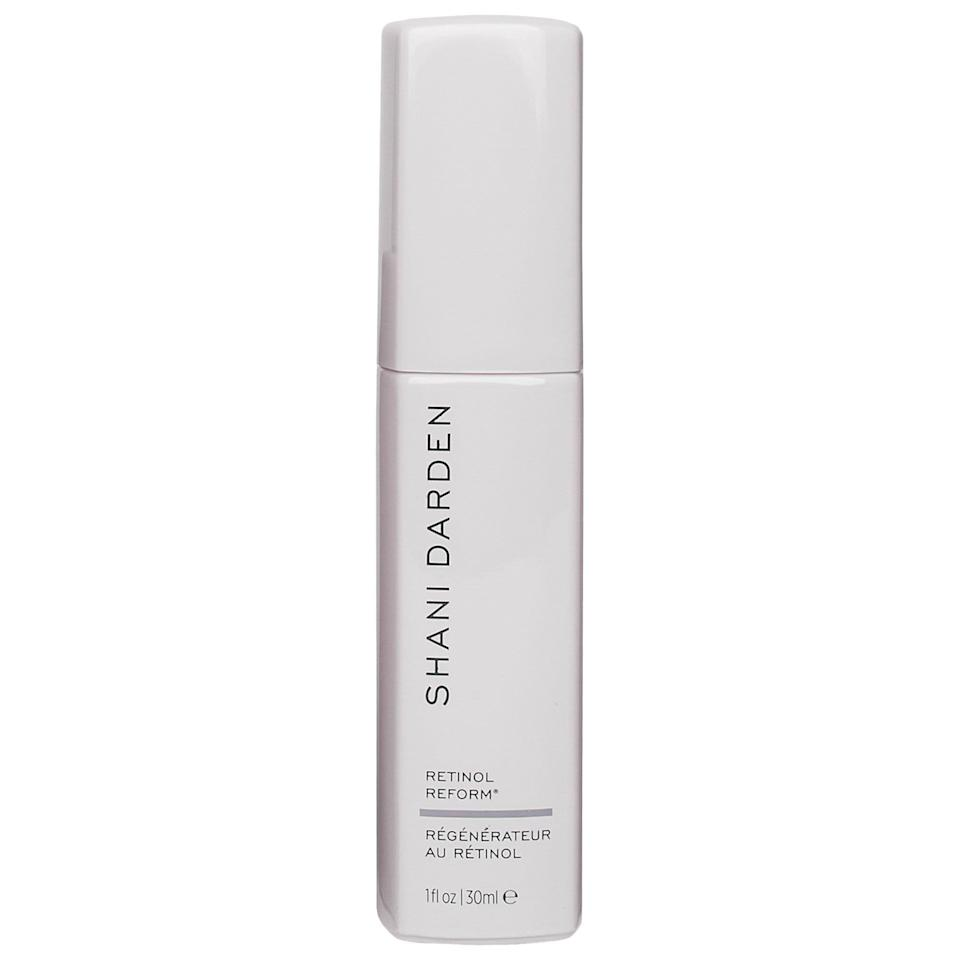 """<p><strong>Shani Darden Skin Care</strong></p><p>sephora.com</p><p><strong>$88.00</strong></p><p><a href=""""https://go.redirectingat.com?id=74968X1596630&url=https%3A%2F%2Fwww.sephora.com%2Fproduct%2Fshani-darden-retinol-reform-P455926&sref=https%3A%2F%2Fwww.marieclaire.com%2Fbeauty%2Fg33597196%2Fbest-retinol-creams%2F"""" rel=""""nofollow noopener"""" target=""""_blank"""" data-ylk=""""slk:SHOP IT"""" class=""""link rapid-noclick-resp"""">SHOP IT</a></p><p>This one is an editor favorite, and for good reason: an extra boost of lactic acid helps lift discoloration and fade the acne spots and scars that plague us all. </p>"""