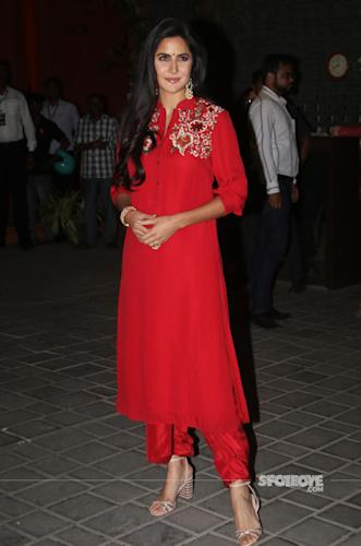 katrina kaif at salman khan ganpati celebration