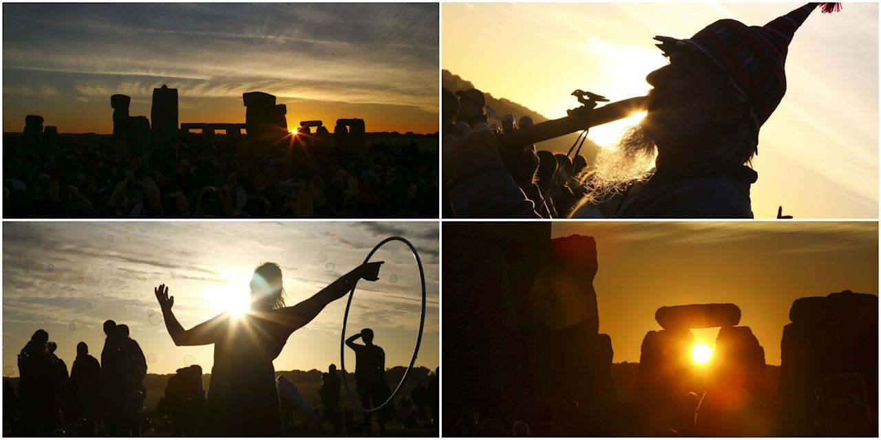 <p><strong>Every year, revellers and druids flock to Stonehenge in Wiltshire to celebrate the summer solstice – and this June was no different.</strong></p><p>Thousands gathered at the prehistoric ring of standing stones to mark the longest day of the year, on June 21st, and watch the sun rise. Luck was on their side for this year's annual festivities as the skies remained clear and the sun shone strikingly over the Neolithic monument. </p><p>The date marks the first official day of summer and is the time when the northern hemisphere is tilted closest to the sun. To honour the occasion, English Heritage opens up the stones for public access, which are usually cordoned off from visitors.</p><p>Here are some of the best pictures capturing this year's special midsummer event...</p>