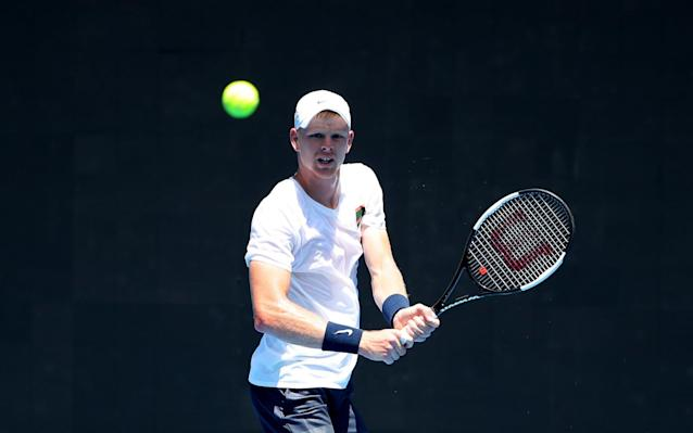 Kyle Edmund says he is focused on doing the best in his career rather than filling the void of Andy Murray's impending retirement - Getty Images AsiaPac