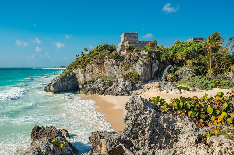 The Mayan archaeological site of Tuluum (Getty Images/iStockphoto)