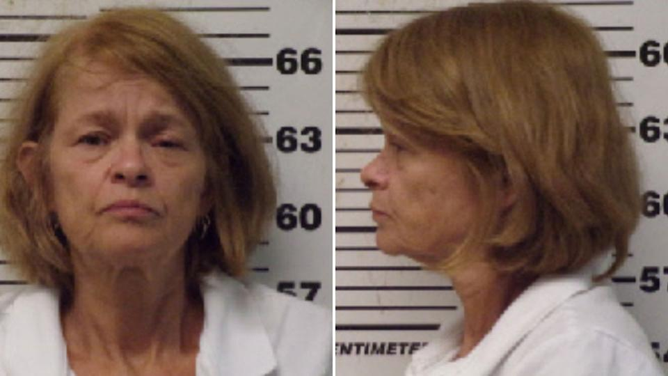 Mugshots of Victoria Thomas Frabutt from North Carolina who is accused of cutting off her husband's penis. Source: Carteret County Detention Centre