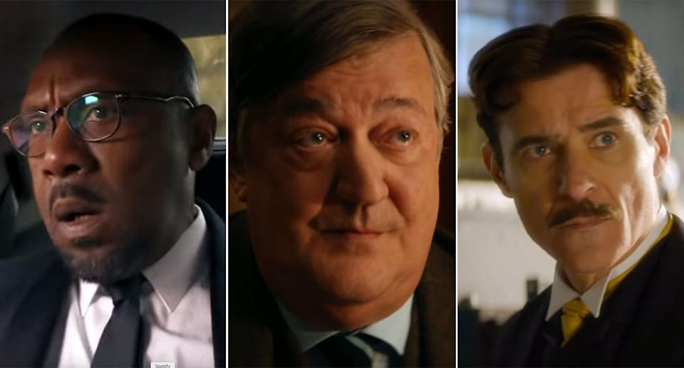 Lenny Henry, Stephen Fry, and Goran Višnjić all appear in the latest season of Doctor Who. (BBC/YouTube)