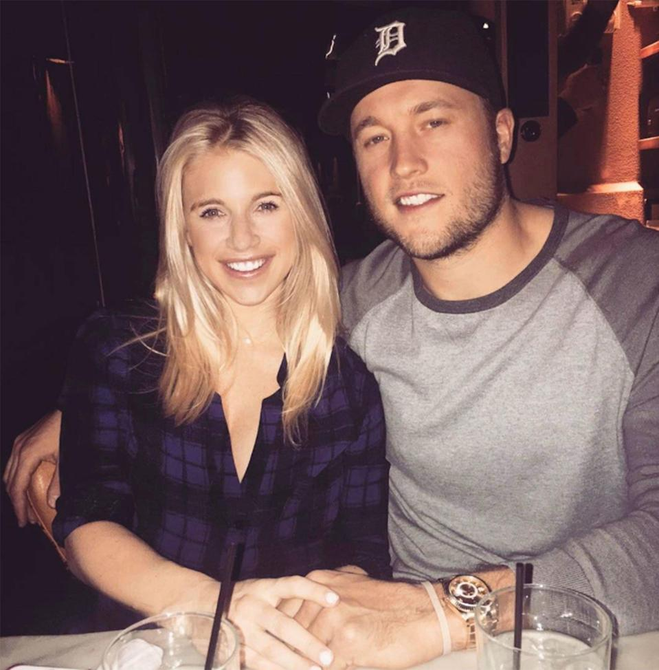 Matthew Stafford Says Wife's Brain Tumor Changed 'Perspective' on Life