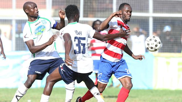 Cocha Robert Matano named Isuza on the bench but gave another Mathare United star, Robinson Kamura a starting role
