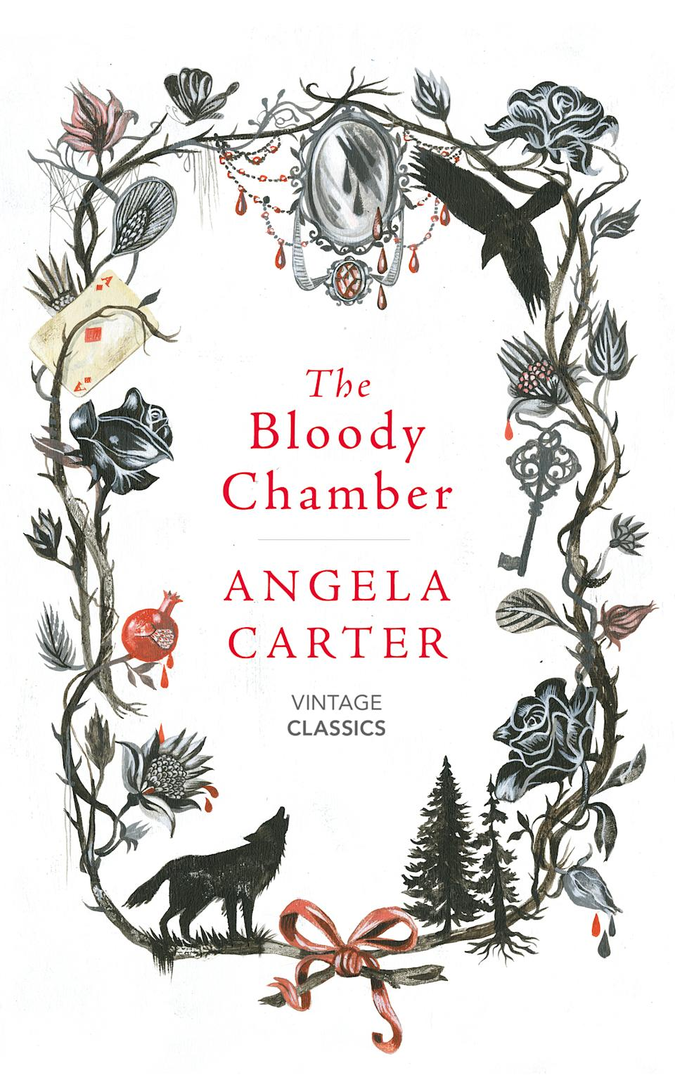 "Easily one of the best books I've ever read, Angela Carter's The Bloody Chamber is the feminist re-imagination of the classic fairy tales that I've grown up reading and watching, like Beauty and the Beast, The Red Riding Hood, Puss in the Boots and Snow White. I fell in love with her style of writing that she mixed with gothic and sexual themes. I would highly recommend this book, which you can buy <a href=""https://fave.co/3n7q3VY"" rel=""nofollow noopener"" target=""_blank"" data-ylk=""slk:here"" class=""link rapid-noclick-resp"">here</a>."