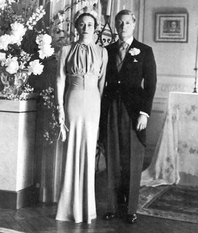 """<p>Die-hard fans of 'The Crown' will be familiar with the love story that rocked Buckingham Palace. When King Edward fell for American socialite Wallis Simpson, there was a constitutional crisis. Due to the fact that Simpson had two living ex-husbands, his desire to wed her was under threat. But in one of the most fairy tale-inspired moments in history, he abdicated in December 1936 to marry """"the woman I love"""". We're not crying, you are.<br /><br />Six months later, the couple tied the knot and the former king became known as the Duke of Windsor. Simpson became formally known as the Duchess of Windsor but was referred to as """"Her Grace"""" as opposed to """"Her Royal Highness"""" in a Buckingham Palace snub. <em>[Photo: Getty]</em> </p>"""