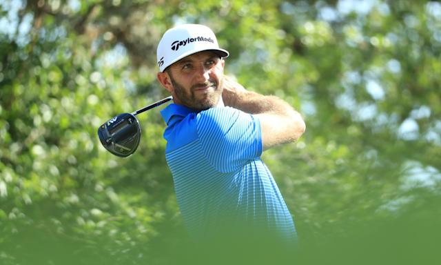 Dustin Johnson on top of the world but favourites rarely prosper at Augusta   Ewan Murray