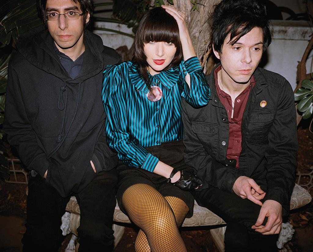Members of Yeah Yeah Yeahs (courtesy of Interscope)