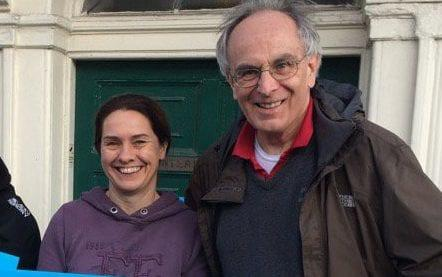 Peter Bone and Helen Harrison - Credit: Twitter