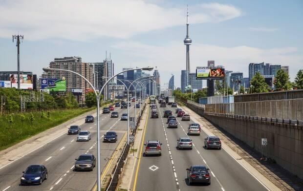 Big changes are coming to the eastern portion of the Gardiner Expressway in the years ahead. (Mark Blinch/Reuters - image credit)