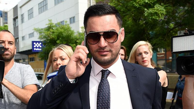 Controversial Auburn deputy mayor Salim Mehajer has been suspended from office for four months after the NSW Civil and Administrative Tribunal found him guilty of failing to disclose all of his financial interests. Photo: AAP