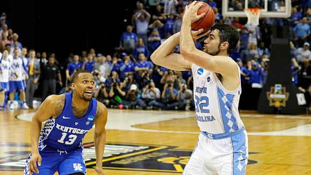 SN breaks down Luke Maye's winning jumper for the Tar Heels against Kentucky in the Elite Eight. This was no wing and a prayer; the Heels are well-coached on such plays.