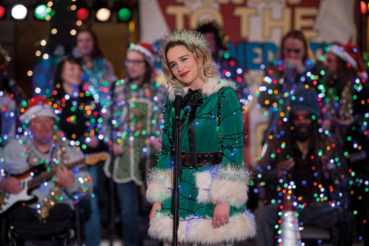 Emilia Clarke as Kate in <i>Last Christmas</i>. (Universal Pictures)