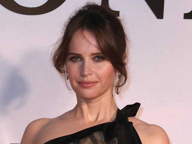 Felicity Jones struggled to feel confident at red carpet events for years