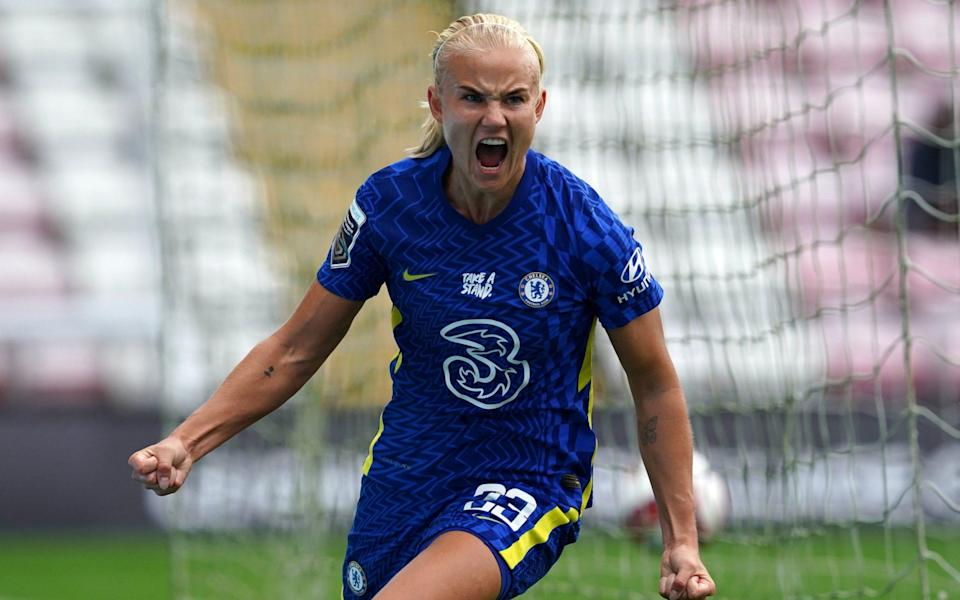 Clinical Chelsea issue WSL title statement by scoring six at error-strewn Manchester United - PA