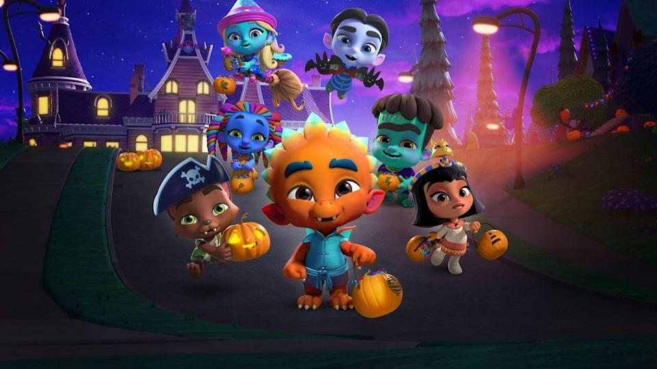 "<p>When the sun goes down, a pre-K classroom full of kids become monsters — but this show is anything but scary. Instead, they learn about how to to master their monster powers, as well as their emotions.</p><p><a class=""link rapid-noclick-resp"" href=""https://www.netflix.com/watch/80235521"" rel=""nofollow noopener"" target=""_blank"" data-ylk=""slk:WATCH NOW"">WATCH NOW</a><br></p>"