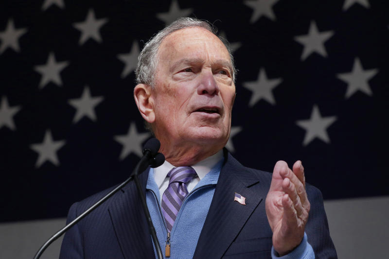 Bloomberg says he will run 'right to the bitter end' if nomination not locked up