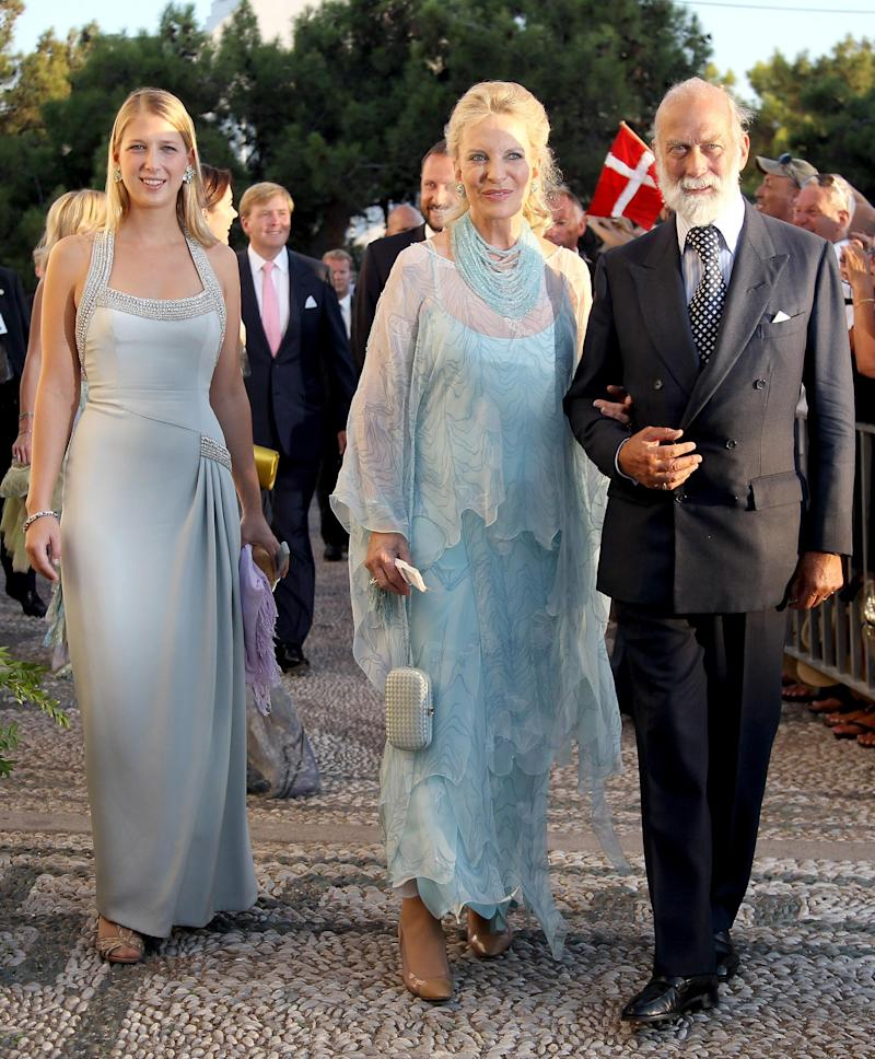 Lady Gariella Windsor with her parents Prince and Princess Michael of Kent (Getty Images)