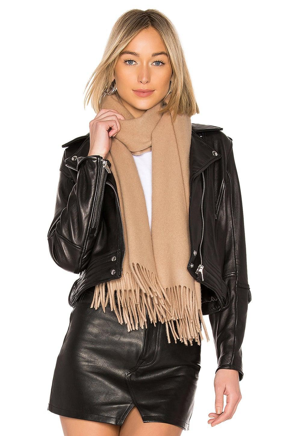 <p>They'll get all wrapped up in this <span>Rag & Bone Classic Wool Scarf</span> ($195).</p>