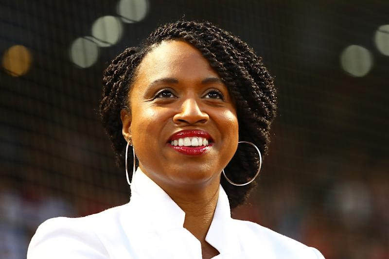 U.S. Rep. Ayanna Pressley goes public with alopecia and baldness
