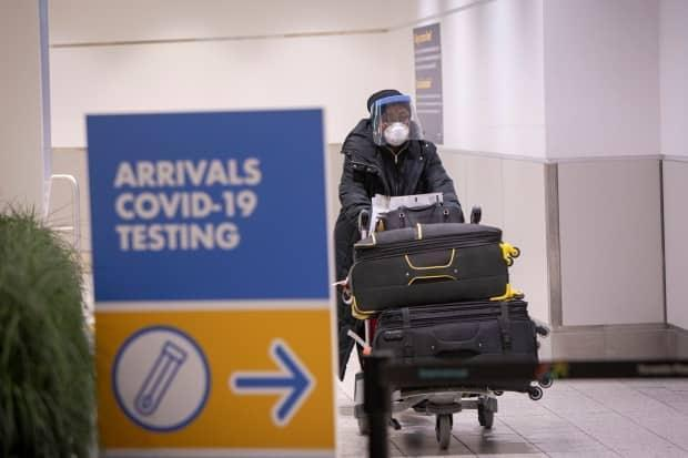 Infectious disease specialist Dr. Lisa Barrett would like to see testing ramp up at the Halifax International Airport. (Evan Mitsui/CBC - image credit)