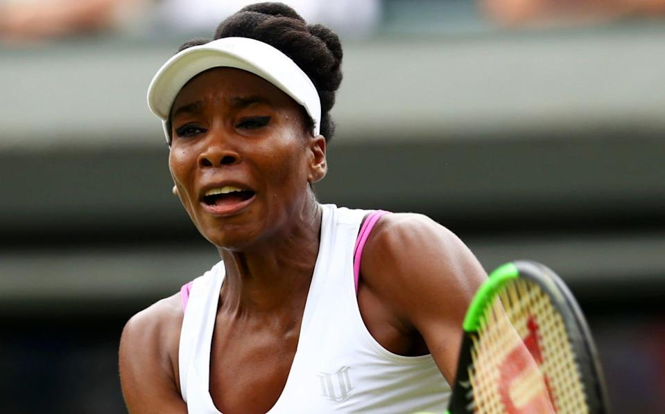Venus Williams and the 'offending' bra - Credit: Michael Steele