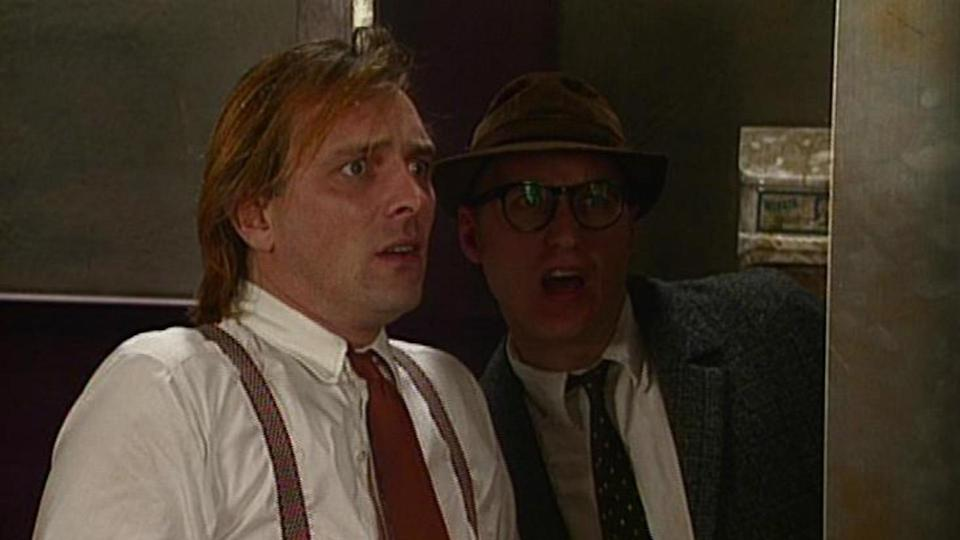 <p> <strong>UK:</strong> Netflix, to buy on Amazon Prime Video </p> <p> <strong>US:</strong> Not available </p> <p> Rik Mayall and Adrian Edmondson star as the socially-depraved Richard Richard and Eddie Hitler in this slapstick saturated, toilet-humour-embracing comedy. There's fart jokes, gross-out moments and ultra violence galore in what is a simple premise of watching these two crude flatmates try to live out their madcap lives. </p>