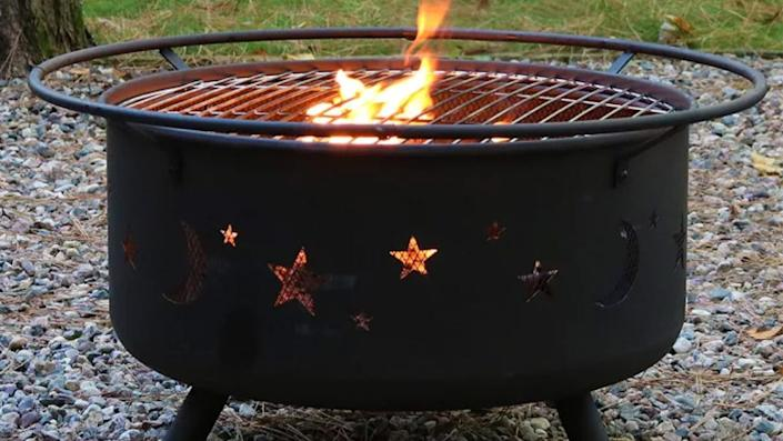 This fire pit is a must-have for the coming autumnal season.