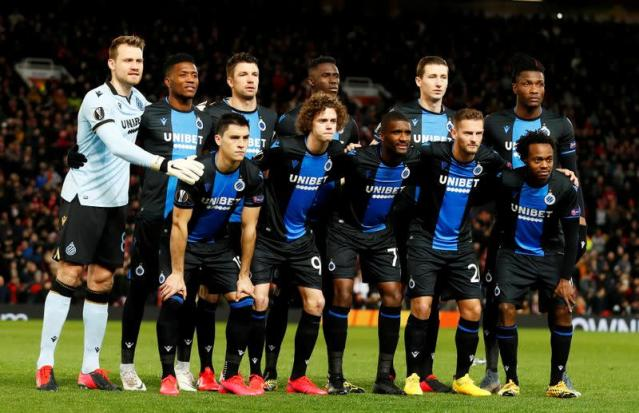 FILE PHOTO: Europa League - Round of 32 Second Leg - Manchester United v Club Brugge