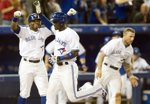 Gose drives in winning run, Jays beat Twins 6-5