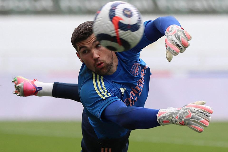 <p>Mat Ryan has impressed when called upon during his loan spell at Arsenal</p> (POOL/AFP via Getty Images)