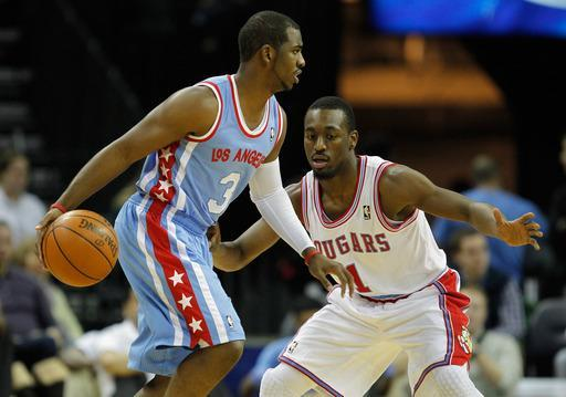 CHARLOTTE, NC - FEBRUARY 11: Chris Paul #3 of the Los Angeles Clippers is guarded by Kemba Walker #1 of the Charlotte Bobcats during their game at Time Warner Cable Arena on February 11, 2012 in Charlotte, North Carolina. (Photo by Streeter Lecka/Getty Images)