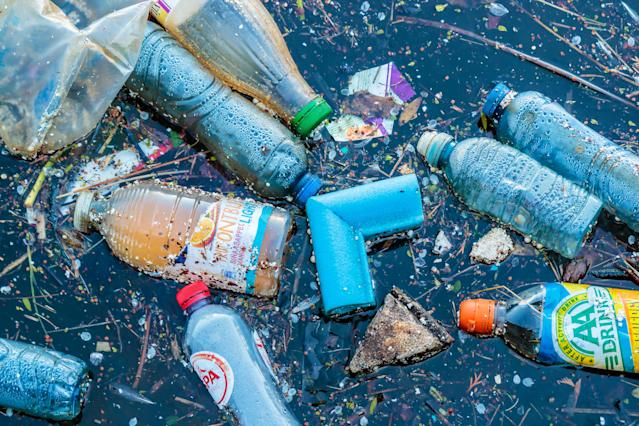 The plastic problem has never been greater. [Photo: Getty]