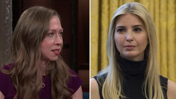 Chelsea Clinton Isn't Letting Ivanka Trump Off The Hook