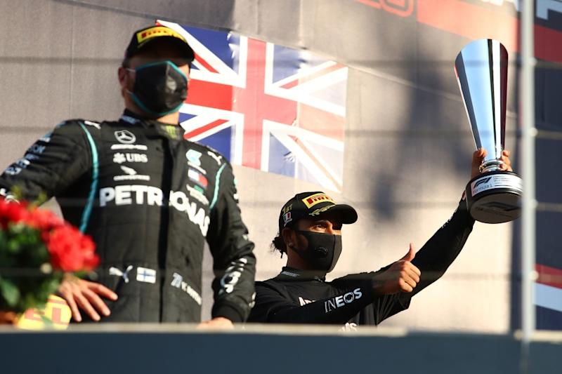 Valtteri Bottas Admits He Needs a Miracle to Stop Lewis Hamilton from Record-equalling Drivers' Title
