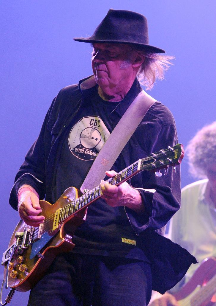 Neil Young is releasing a new live album, 'Earth,' on June 17.