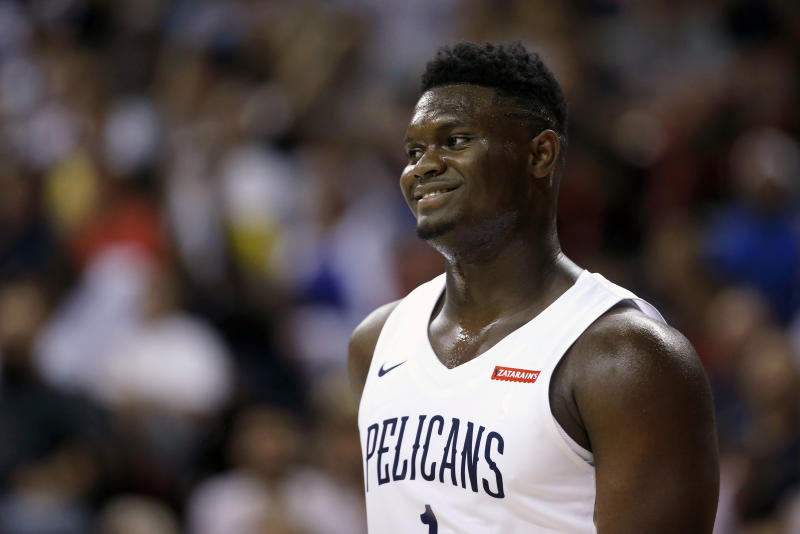Zion Williamson said he wants to play in New Orleans for his entire career, just like Kobe Bryant and Dirk Nowitzki did.