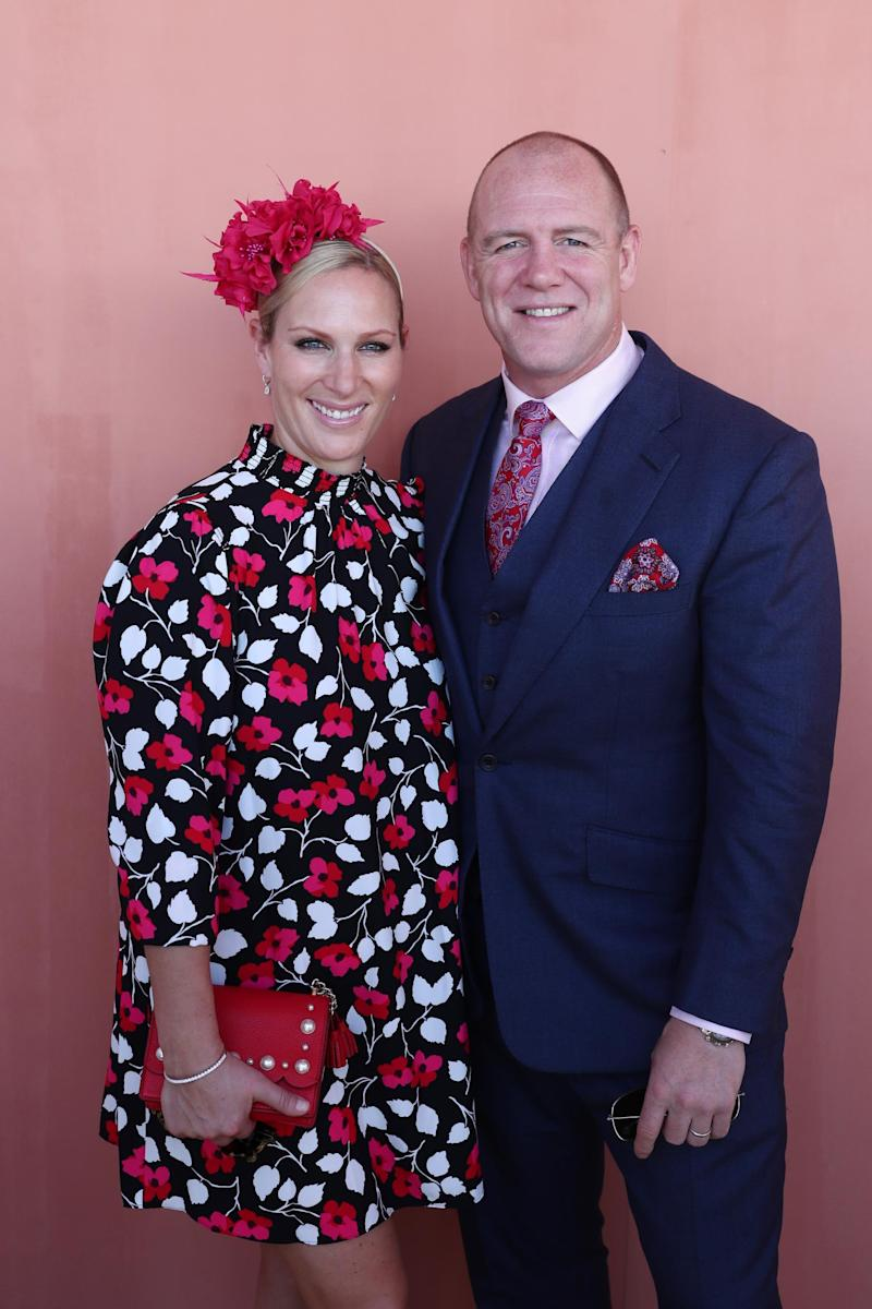 Zara Tindall with her husband Mike (Getty Images)