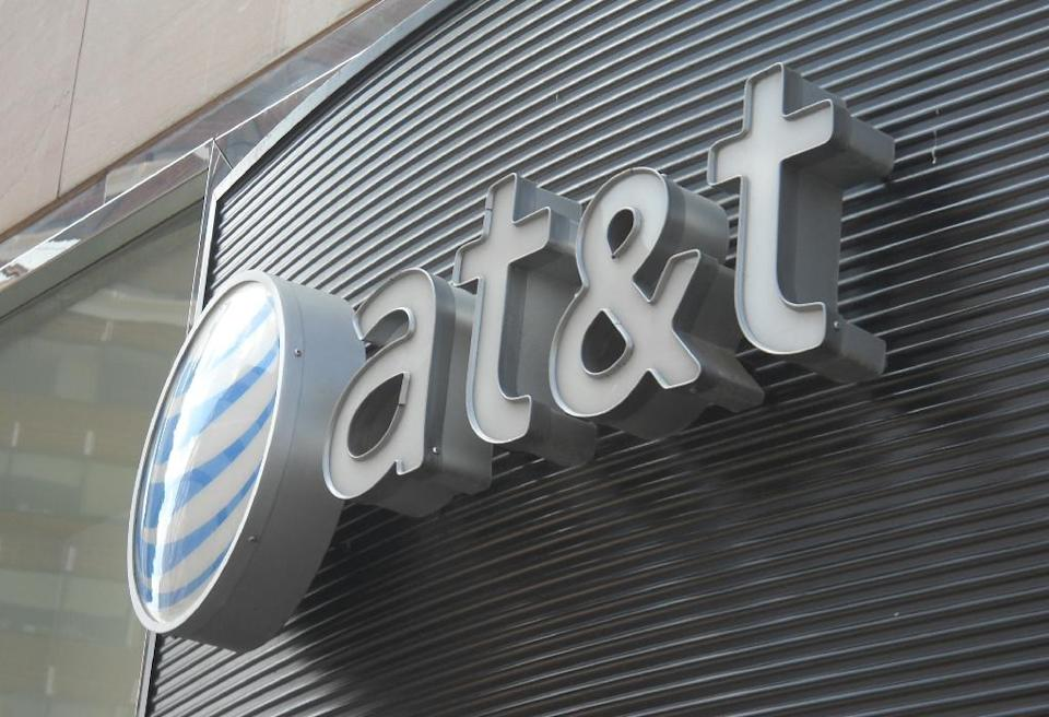 AT&T confirmed on May 4, 2016, that it is switching to Synacor to manage its att.net portal and applications including search (AFP Photo/Etienne Franchi)