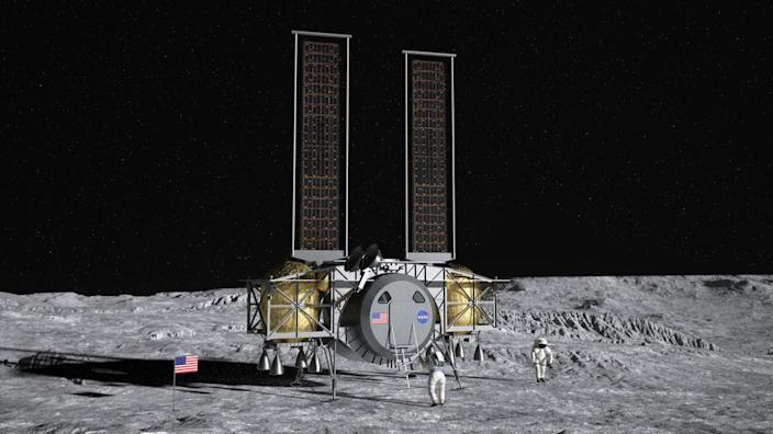 Three companies move forward in bid to bring astronauts to the Moon