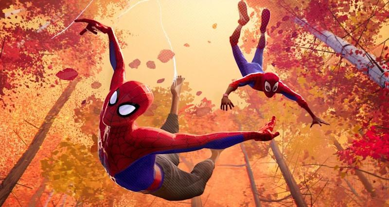 <em>Spider-Man: Into the Spider-Verse</em>