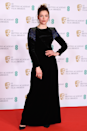 <p>Wow, fringe really is the red carpet trend of the night with Sophie Cookson's black dress featuring blue twinkly tassel epaulettes.</p>
