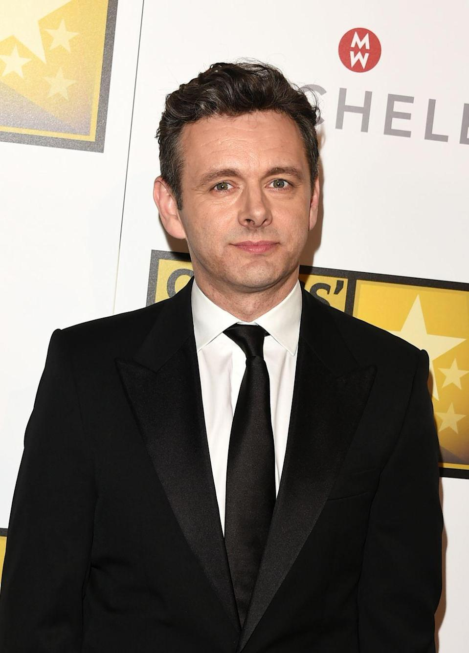 <p>The Welsh actor wore his dark hair in a clean cut style for the Critic Choice Awards in 2014. </p>