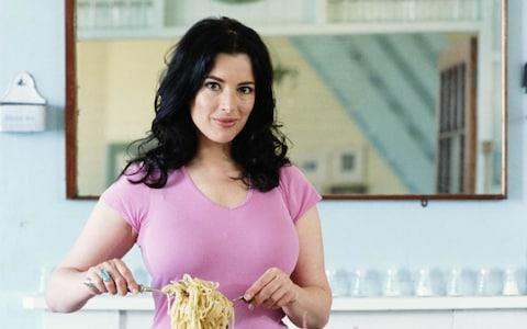 Nigel Lawson was an early adopter of the dad name-jacking trend when he called his daughter Nigella (pictured) - Credit: Francesca Yorke/Getty Images Europe